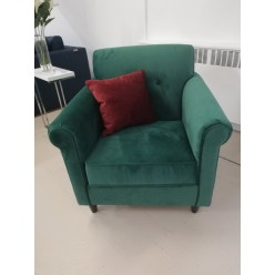 Edge-1879 Chair (emerald green)