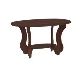 Coffee table Tulip (dark brown)