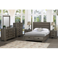 "Jenna Bedroom Set 60"" 4pcs"