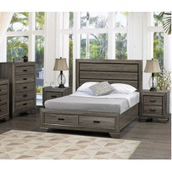 "Jenna Bedroom Set 60"" 3pcs"