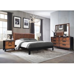 "Camellia Bedroom Set 60"" 3pcs"
