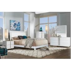 "Venezia Bedroom Set 60"" 3pcs (White)"
