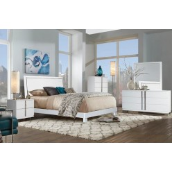 "Venezia Bedroom Set 60"" 3pcs (White)"