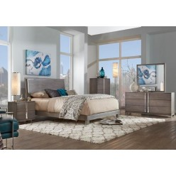 "Venezia Bedroom Set 60"" 3pcs (Grey)"