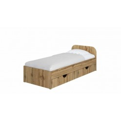 """Bed 39"""" Sonia without drawers (tahoе)"""