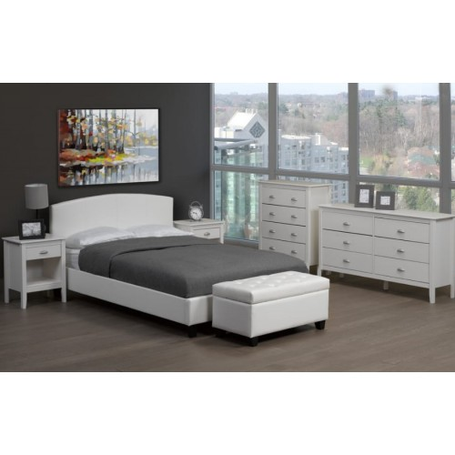"""TS-2350 Bed 39"""" (White)"""