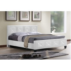 """IF-178 Bed 54"""" (White)"""