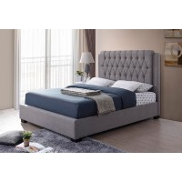 "IF-196 Bed 78"" (Grey Fabric)"