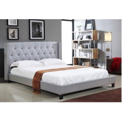 "IF-5801 Bed 78"" (Light Grey)"