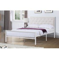 "TS-2208 W Bed 39"" (White)"