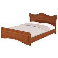 """Angelina Bed 60"""" (Brown)"""