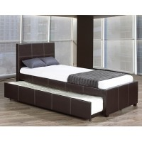 "IF-132 Bed 39"" with trundle (black)"