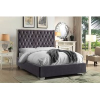 """IF-5540 Bed 60"""" (Grey)"""