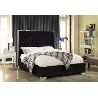 """IF-5542 Bed 60"""" (Black)"""