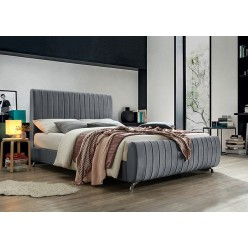 """IF-5675 Bed 78"""" (Grey)"""