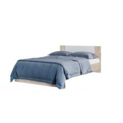 """Lily Bed 60"""" (Sonoma oak/white)"""
