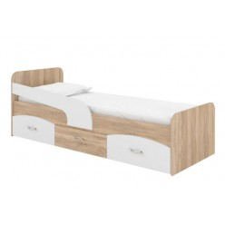 "Bed 39"" Milka (sonoma +  white)"