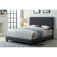 """TS-2113 Bed 78"""" (Grey)"""