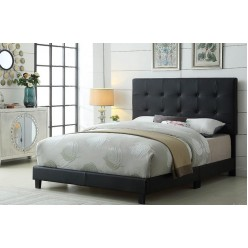 "TS-2113 Bed 78"" (Black)"