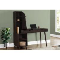 I-7096 Bookcase-desk (espresso)