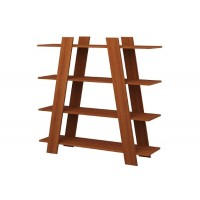 Bookcase Pyramid (brown)