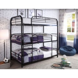B-503 Metal Bunk bed (black)