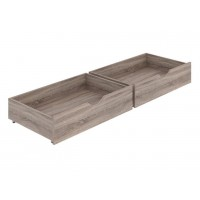 Drawers for bed Sonia 2 pcs.(truffle)