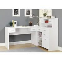 """I-7028 Computer desk - 60""""L (white)"""