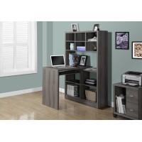 I-7041 Computer Desk (dark taupe)