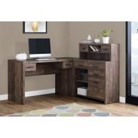 "I-7427 Computer desk - 60""L (brown/wood-look finish)"
