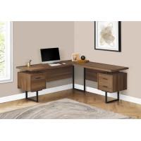 """I-7610 Computer desk 70""""L (walnut)"""