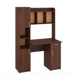 "Computer Desk ""Eridan"" (dark brown)"
