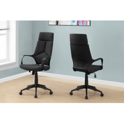 I-7272 Office Chair (Black/Executive Back)