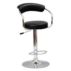 ST-7500-B Bar stool 2pcs (Black)