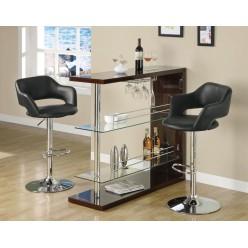 I-2357 Bars stool (Black)