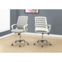 I-7225 Office Chair / Multiposition (white/grey mesh)