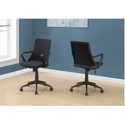 I-7267 Office chair (Black mesh/multi-position)