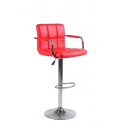 ST-7732 Bar Stool (Red)