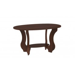 Coffee table Tulip (dark brown)