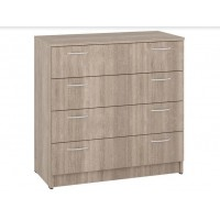 Dresser К-4 with 4 drawers (truffle)