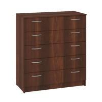 Dresser К-5 with 5 drawers (dark brown)