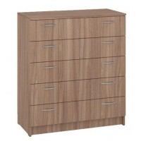 Dresser К-5 with 5 drawers (truffle)