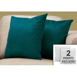 I-9281 set of 2 cushions (emerald green)