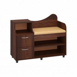 Cabinet for shoes B-2 (dark brown)