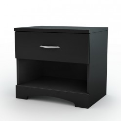 Nightstand Step One 1-Drawer (black)
