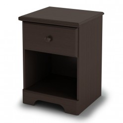 Nightstand Chocolate Summer Breeze 1-Drawer  (LIQUIDATION)