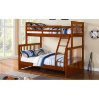 B-122 Bunk Bed (Honey)