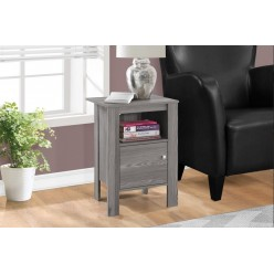 I-2138 Accent Table with storage (grey)