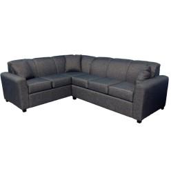 Edge-1535 Sectional Sofa (Armani slate)