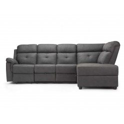 Model Luca Reclining Sofa (Manual Recliner)